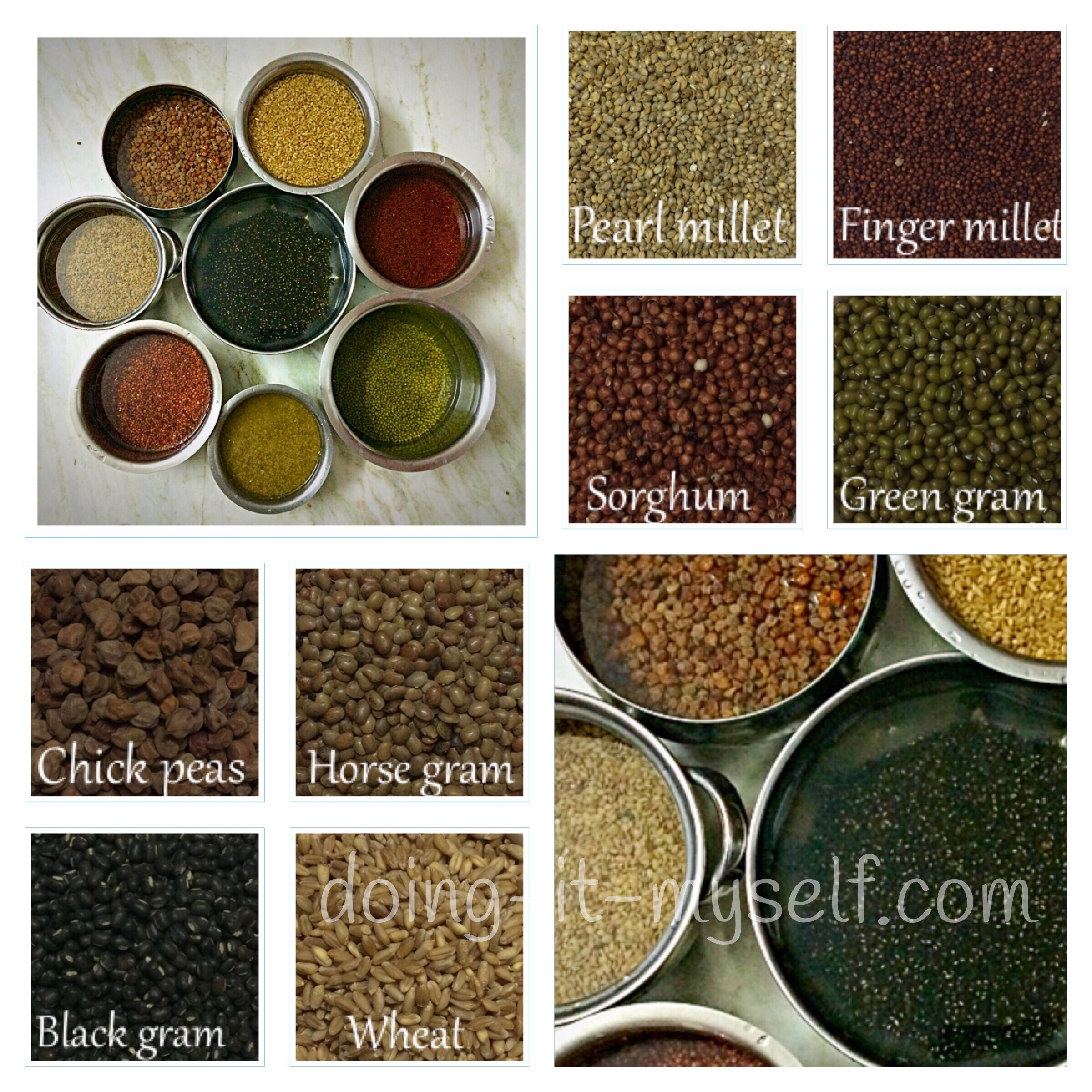 soaking-millets-redrice-pulses